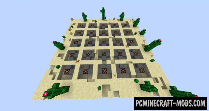 Spread 2 Map For Minecraft