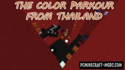 The Color Parkour From Thailand Map For Minecraft