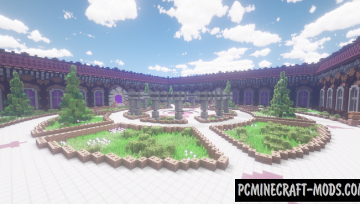Hub By TheBiome Map For Minecraft