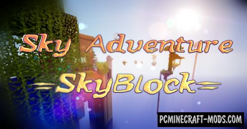 Sky Adventure SkyBlock Map For Minecraft PC Java - Minecraft maps skyblock 1 11 2
