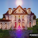 Woodland Mansion Transformation Map For Minecraft