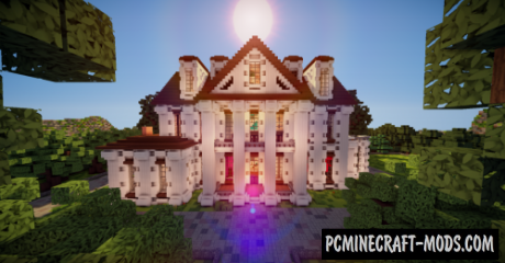 The Levatou Mansion Map For Minecraft