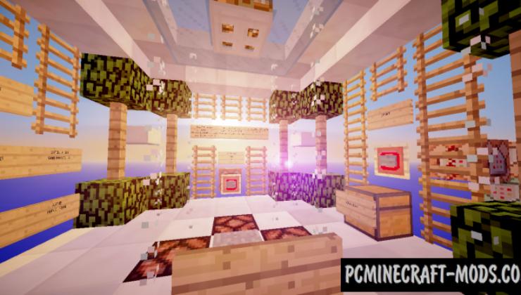 Sky Adventure - SkyBlock Map For Minecraft