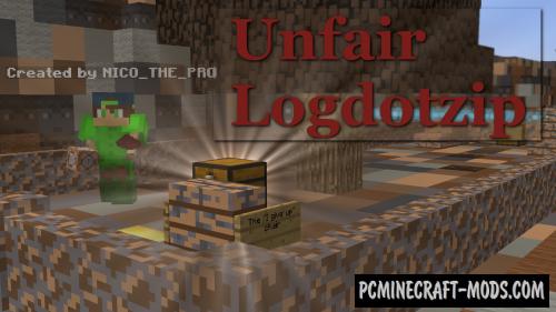 Unfair Logdotzip Map For Minecraft