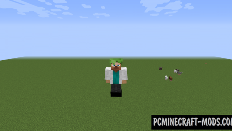 Costumes Mod For Minecraft 1.12.2