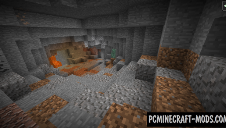 Cave Generator - New Biomes Mod For Minecraft 1.12.2