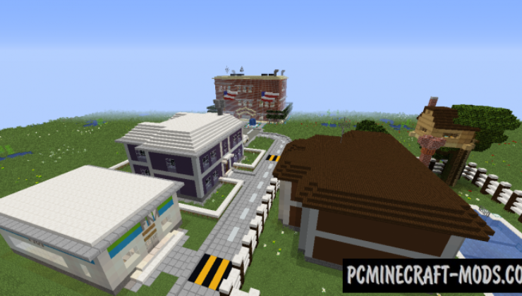 The new best school Map For Minecraft