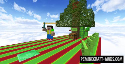 Unfair Unspeakable - Parkour Edition Map For Minecraft