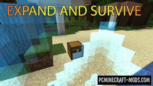 Expand And Survive Map For Minecraft PC Java Mods - Mapas survival para minecraft 1 11 2
