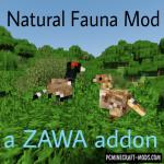 Familiar Fauna Mod For Minecraft 1.12.2