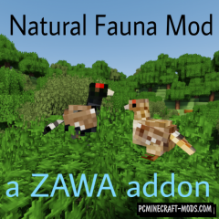 Natural Fauna - Creature Mod For Minecraft 1.12.2