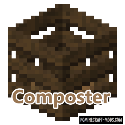 Composter Mod For Minecraft 1.12.2