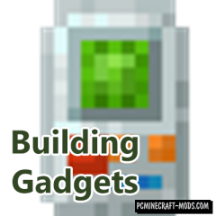 Building Gadgets - New Decor Tools Mod MC 1.14.4, 1.12.2