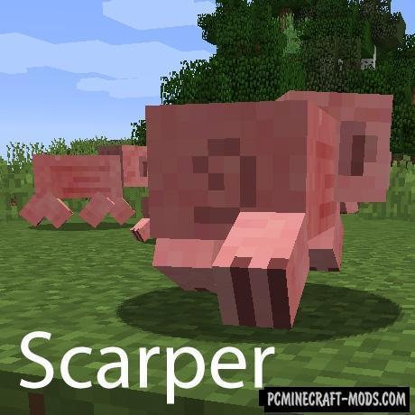 Scarper - Behavior Tweak Mod For Minecraft 1.16.3, 1.12.2