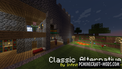 Classic Alternative 16x Texture Pack For Minecraft 1.16.5, 1.16.4