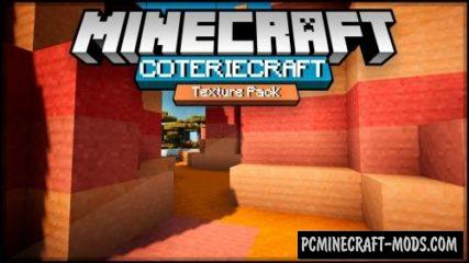 CoterieCraft Resource Pack For Minecraft 1.13, 1.12.2, 1.11.2, 1.10.2