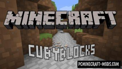 CubyBlocks3D Resource Pack For Minecraft 1.12.2