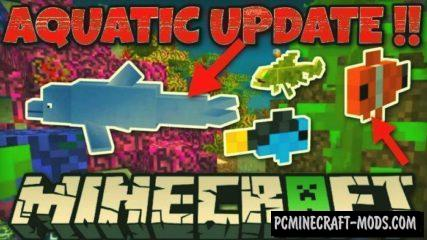 Download Minecraft PE 1.6.1, 1.5.3.0 APK MOD Aquatic Update Full Version