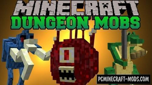 Dungeon Mobs Reborn - Mob Mod For Minecraft 1.12.2