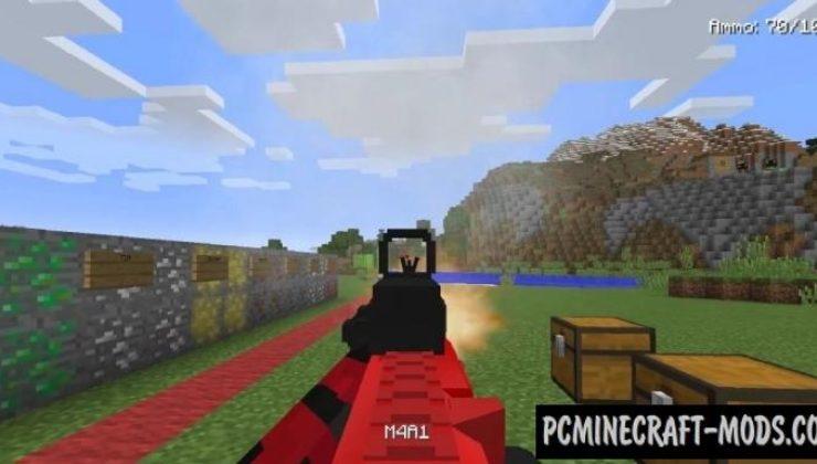 Modern Warfare - Gun Mod For Minecraft 1.12.2