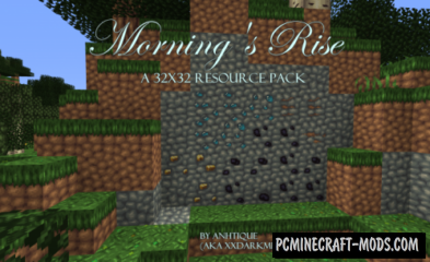 Morning's Rise Resource Pack For Minecraft 1.13, 1.12.2