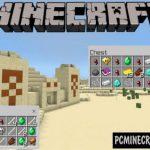 Simple Commands Buttons Minecraft PE Bedrock Mod 1.9.0, 1.7.0