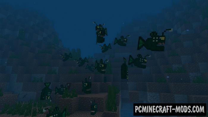 OceanCraft PE Minecraft PE Bedrock Mod 1.9.0, 1.8.0, 1.7.0