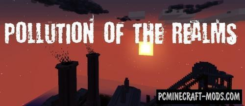 Pollution of the Realms - New Clouds Mod Minecraft 1.16.5, 1.12.2