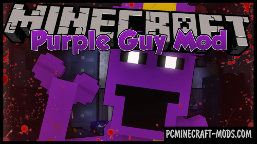 Purple Guy Mod For Minecraft 1.12.2