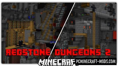 Redstone Dungeons 2 Map For Minecraft