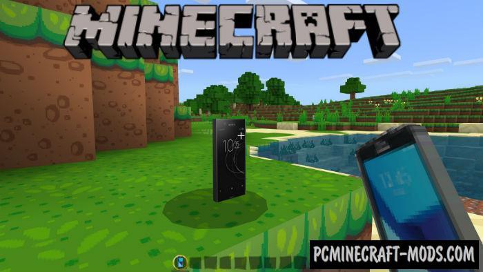 SmartPhones Minecraft PE Mod 1.9.0, 1.8.0, 1.7.0