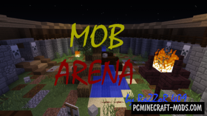 Mob Arena Map For Minecraft