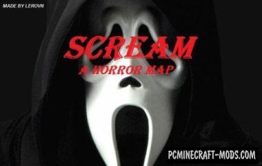 Scream I Map For Minecraft