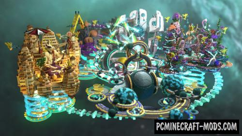 Celestials' Vault Map For Minecraft