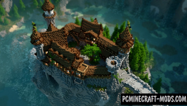 Old Fallen Castle Map For Minecraft