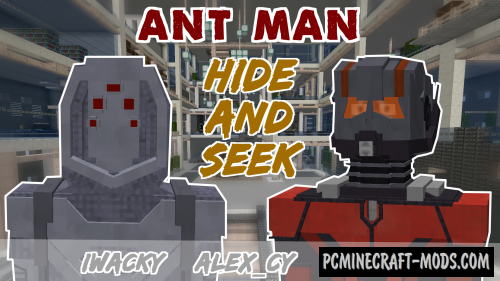 Hide And Seek - Ant Man Map For Minecraft