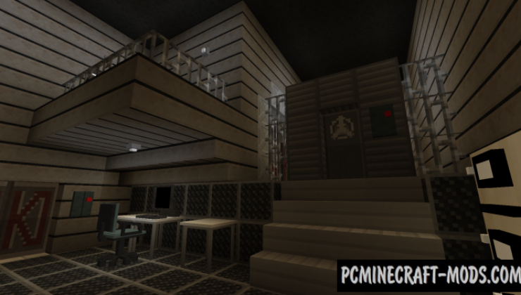 SCP: Lockdown Mod For Minecraft 1.12.2