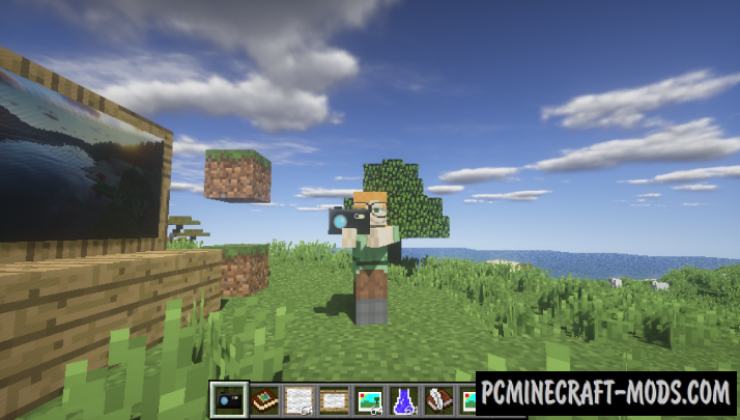 Mine Camera Mod For Minecraft 1.12.2, 1.10.2