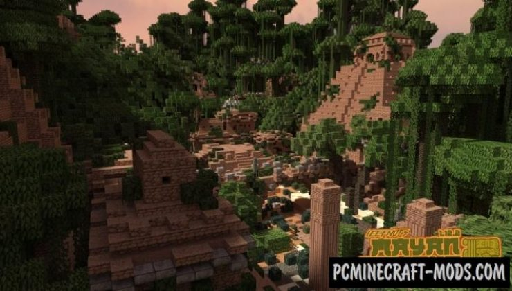 Mayan Temple Ruin Map For Minecraft