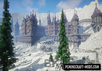 Frauberg Abbey Map For Minecraft