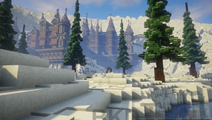 Frauberg Abbey Map For Minecraft