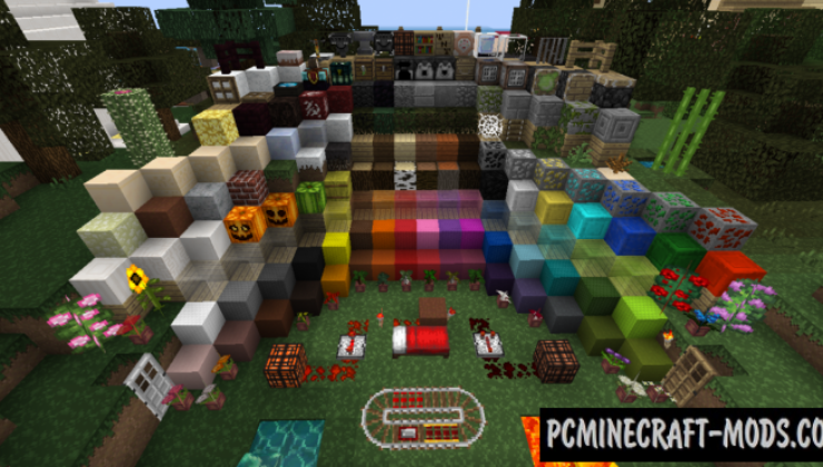PixaGraph 16x16 Resource Pack For Minecraft 1.16, 1.15.2