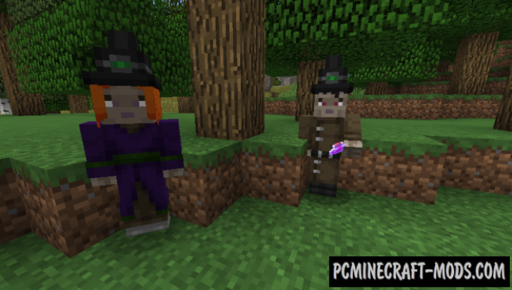 Player Villager Models Resource Pack For Minecraft 1.12.2, 1.10.2, 1.9.4