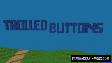 Trolled Buttons Map For Minecraft