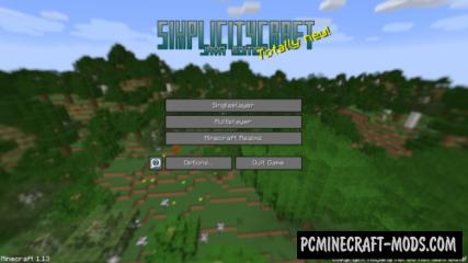 SimplicityCraft Map For Minecraft 1.13.1