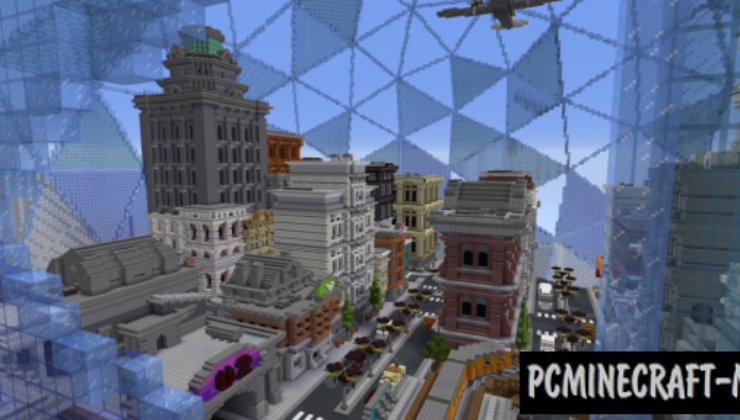 The 4th Dimension Map For Minecraft