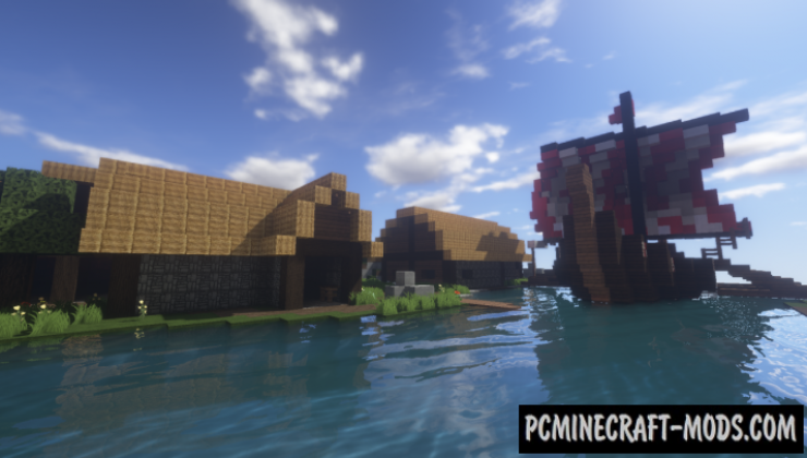 fortnite viking village map for minecraft 1 14 4  1 14 3