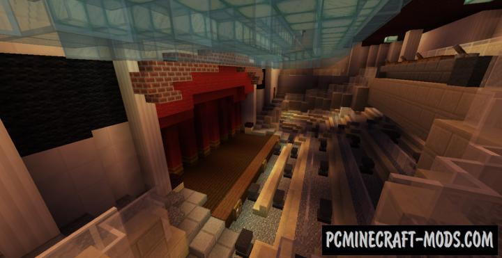 MS Poseidon Map For Minecraft