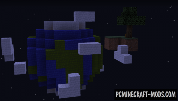 Skyblock: Freestyle Map For Minecraft