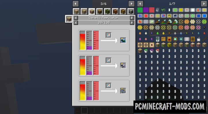 Gendustry JEI Addon Mod For Minecraft 1.12.2